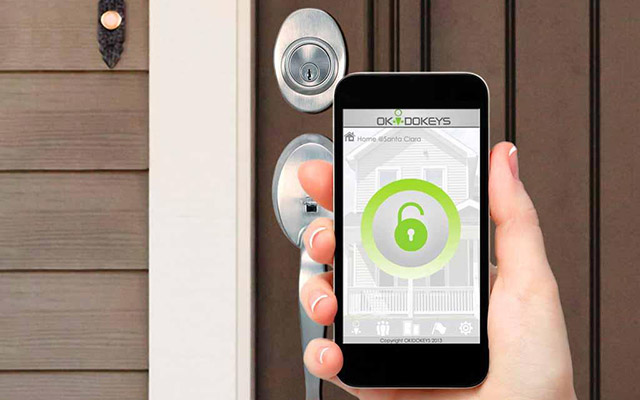 Cerraduras de seguridad electr nicas proteger la casa con el m vil la llave de tu seguridad - Cerraduras electronicas para casa ...
