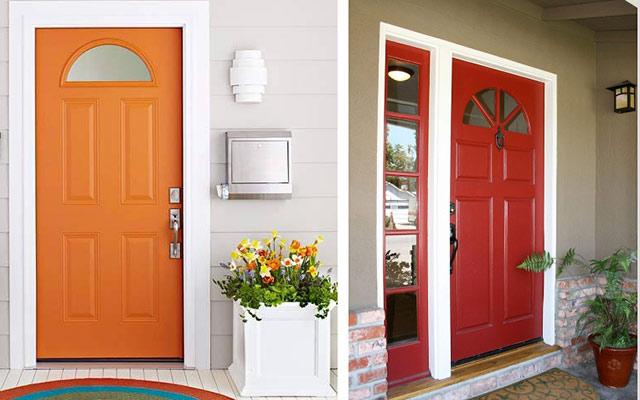 Alternativas para cambiar la decoraci n de las puertas de for Como cambiar las puertas de casa